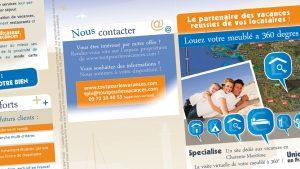 Graphiste La Rochelle - Elisabeth MORIN - Flyer 3 volets TPLV