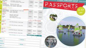 Graphiste La Rochelle - Elisabeth MORIN - Brochure Pas'sports Dompierre sur MerBrochure Pas'sports Dompierre sur Mer
