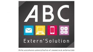Elisabeth MORIN - graphiste La Rochelle - logo ABC Extern'Solution