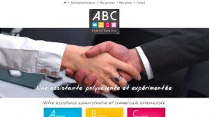 ABC Extern'Solution - site internet - Elisabeth MORIN graphiste webmaster La Rochelle