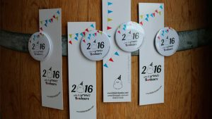 Graphiste La Rochelle - Elisabeth MORIN - de visite marque-page
