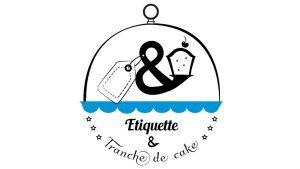 Elisabeth MORIN - graphiste La Rochelle - logo Etiquette et Tranche de Cake