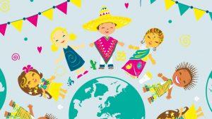 Personnages pour illustration thème année école Fénelon - Elisabeth MORIN, graphiste illustratrice La Rochelle