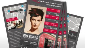 Flyer coiffeur Jacques Laurent