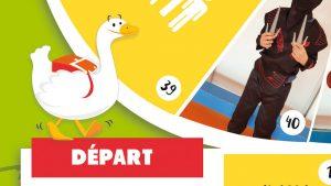 Détail jeu de l'oie - Elisabeth MORIN, graphiste illustratrice La Rochelle