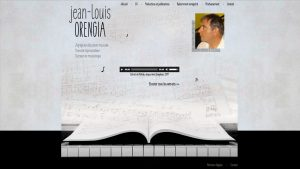 Jean-Louis Orengia - site internet - Elisabeth MORIN graphiste webmaster La Rochelle