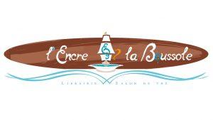 Elisabeth MORIN - graphiste La Rochelle - logo L'Encre et la Boussole