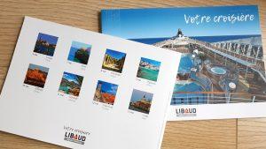 Brochure 80 pages pour voyage Libaud