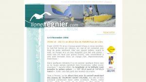 Lionel REGNIER - newsletter - Elisabeth MORIN, graphiste webmaster La Rochelle