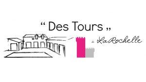 Elisabeth MORIN - graphiste La Rochelle - logo Des Tours à La Rochelle