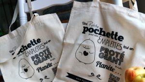 Création de Tote bag - Elisabeth MORIN Graphiste La Rochelle