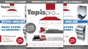 Graphiste La Rochelle - Elisabeth MORIN - Flyer Tapis Pro