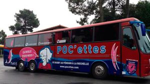 Réalisation du personnage des POC'ettes - Elisabeth MORIN, graphiste illustratrice La Rochelle