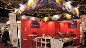 Habillage graphique des stands de l'ARIA Poitou-Charentes - SIRHA 2015